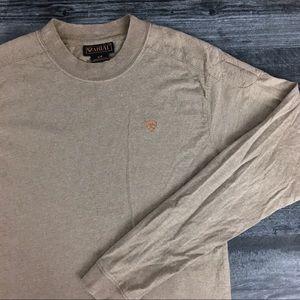 Tan Ariat High Quality Long Sleeve Shirt